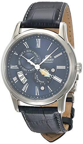 Orient Herren Analog Automatik Uhr mit Leder Armband FAK00005D0