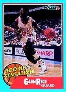 Amazoncom 1990 Fleer Rookie Sensations Basketball Rookie
