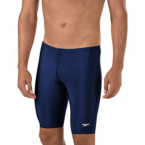 Speedo Men's Swimsuit Jammer ProLT Solid Speedo Navy, 32