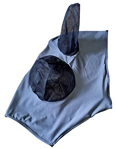 SPEEDA Fliegenmaske dunkelgrau (X-Full/Kaltblut)