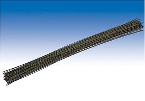 KnorrPrandell Gütermann 6479308 - Ferro per Gambo Fiori, 30cm, Confezione da 40, Colore: Verde