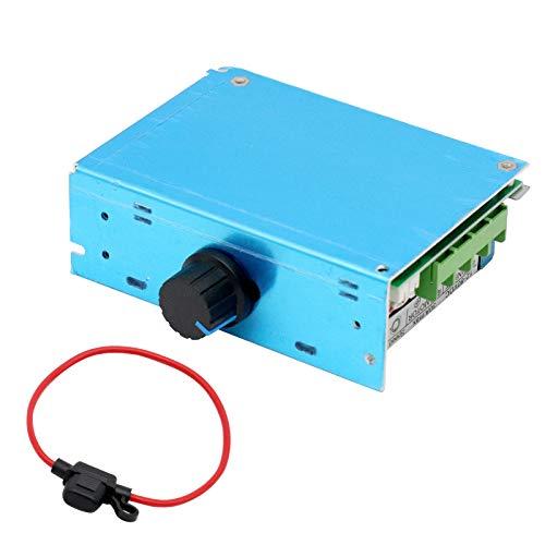 Controlador de Velocidad del Motor KYYKA, regulador de Velocidad del Motor KYYKA DC12V 24V 36V 50V 30A 1500W PWM con Fusible de 30 amperios