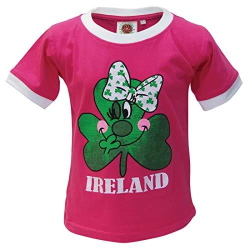 Pink Kids Ringer T-Shirt - 8
