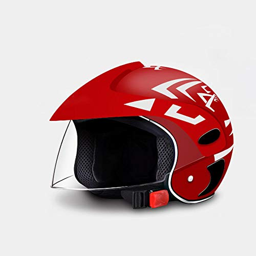 Vier seizoenen elektrische motorfiets kinderen helmen mannen en vrouwen baby accu auto helmen kinderen half helmen zomer