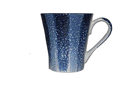 Snyter Ceremic Coffee Mug, Blue Jumbo Coffee Cups, Ceramic Mug, Best Gift Coffee Tea Mug Cup, Mugs with Beautiful Patterns - Pack of 1