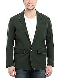 Zobello Mens Seaweed Green Twill Blazer