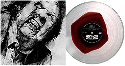Night of the Living Dead Original Score from the 1990 Motion Picture Clear Vinyl W/ Blood Pool Exclusive Color Variant