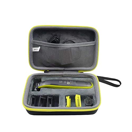 LUYIBA Étui de Voyage Rigide Housse Cas pour Philips OneBlade QP2520/30, QP2630/30, QP2530/30 Hybrid trimmer shaver