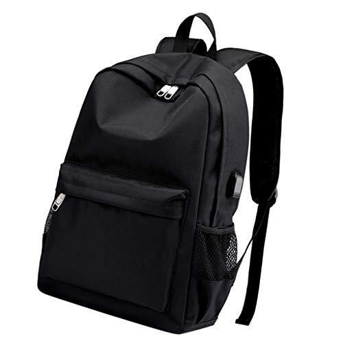 Sharplace Sac à Dos Ordinateur Portable pour Laptop 15.6 Pouces Port de Charge USB Unisexe pour Randonnée Voyage Scolaire Bureau Trekking