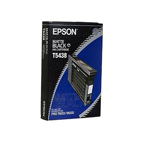 Epson T543800 Matte Black 110ml UltraChrome Ink Cartridge for Pro 4000, 7600 and 9600