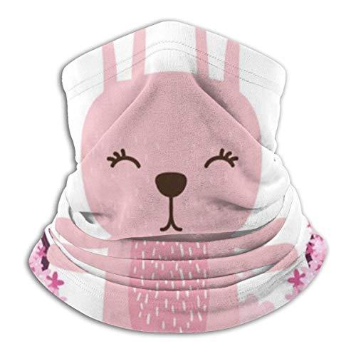 Lzz-Shop Haas schommel met bloemen nekwarmer – hoofdbanden voor hoofddoek, hoofdbedekking, vissen, nekband, sportsjaal