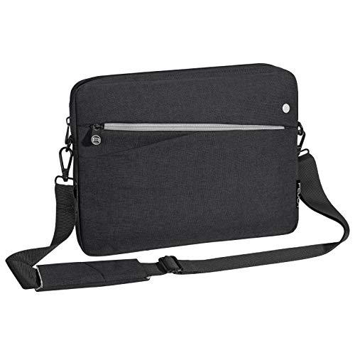 Pedea Tablet PC Tasche Fashion für 12,9 Zoll (32,8 cm) Schutzhülle Etui Hülle mit Zubehörfach, schwarz