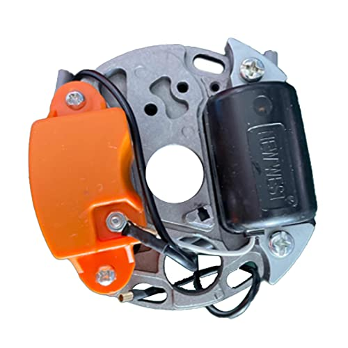 Soapow Reemplazo de bobina de encendido para STIHL 070 090 motosierra 1106 400 0705 1106 404 3210 estator
