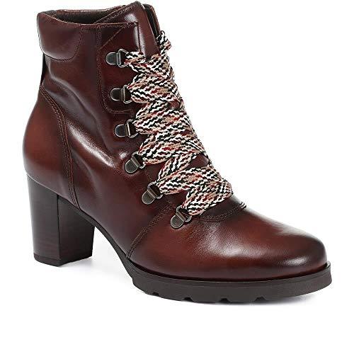 Gabor Basic laarzen in grote maten bruin 35.542.24 grote damesschoenen
