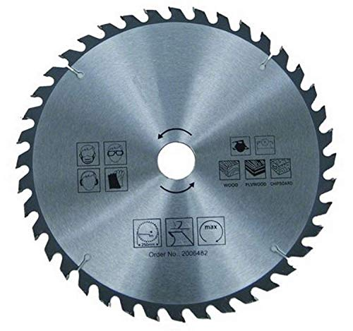 Hoja de sierra circular para madera – Ø 230 x 30 mm / 40 dientes   sierra circular de mano   HM – carburo   para sierra en madera   para sierra circular de mano