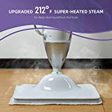 LIGHT 'N' EASY Multi-Functional steam mop Steamer for...