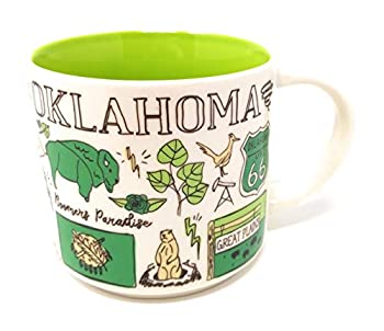 Starbucks OKLAHOMA 2018 Been There Series Ceramic Coffee Cup