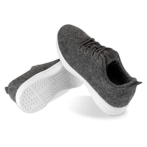 Kaulfus Merino Sneaker - Wollschuhe aus hochwertiger Merino Wolle, sportlich und...