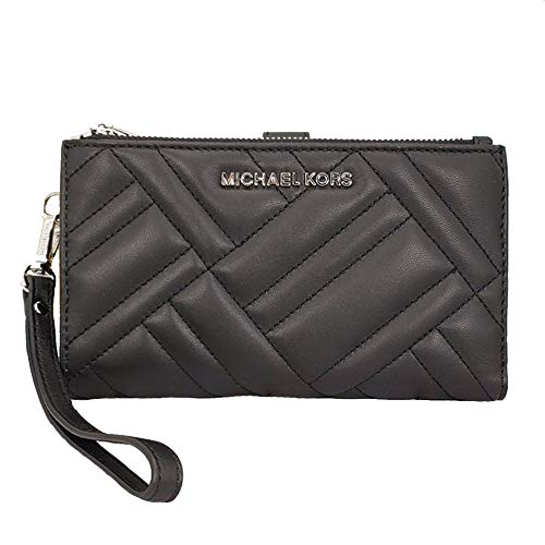 Michael Kors Peyton Double Zip Quilted Leather Phone Wallet Wristlet