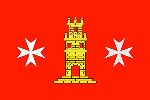 magFlags Bandera Large Torrelameu, Lérida, España | Bandera Paisaje | 1.35m² | 90x150cm