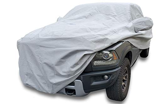 """DMB Pro Outdoor Car Cover for 2009-2020 Dodge RAM 1500 Crew Cab Short Bed(5' 7"""") Outdoor Car Body Cover Custom Fit All Weather Waterproof Heavy Duty"""