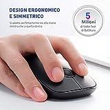 IMG-2 victsing mouse wireless silenzioso ed