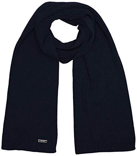 Calvin Klein Knitted Scarf 30x180cm Set di Accessori Invernali, CK Navy, Taglia Unica Uomo