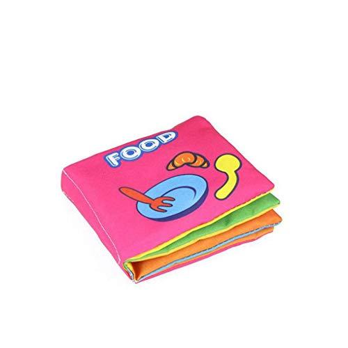 Zachte Doek Boeken Ruisend Geluid Zuigeling Boek, Baby Rammelaars, Educatieve Kinderwagen Vroeg Leren Educatieve Kinderwagen Rammelaar Speelgoed