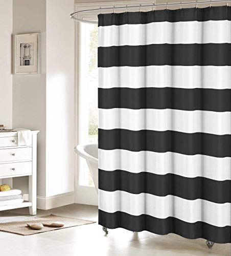 Black and White Nautical Curtain