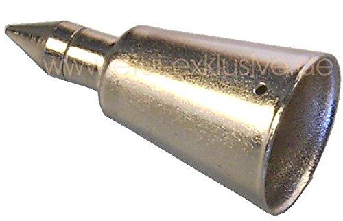 Stockspitze Metall 20 mm