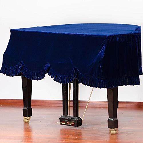 Dhl driehoekige dikke piano stofdichte afdekking voor kruk fluweel afdekking pianostof