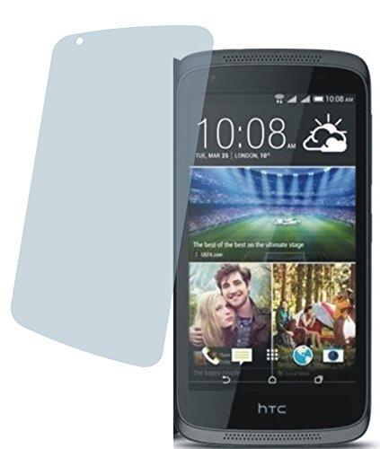 4ProTec I HTC Desire 526G Dual SIM (2 Stück) Premium Displayschutzfolie Bildschirmschutzfolie kristallklar Schutzhülle Displayschutz Displayfolie Folie