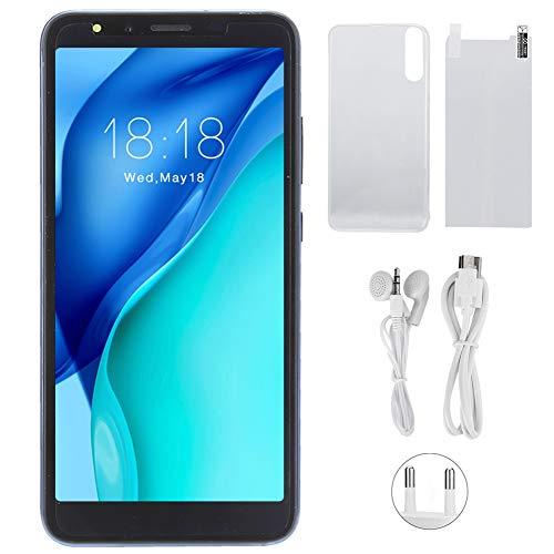 Agatige Smartphone, P20PLUS 5.0in 3G Versión Internacional Tarjetas Dobles Teléfono Inteligente de Doble Modo de Espera 100‑240V(Azul)