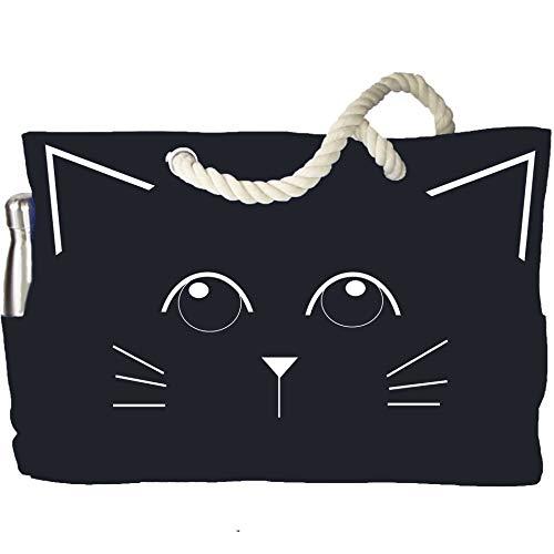 Ultimate Cat Bag | Damen 100% wasserdichte süße Katze Sommer Mode Schultertasche - Perfektes Geschenk für Katzenmenschen