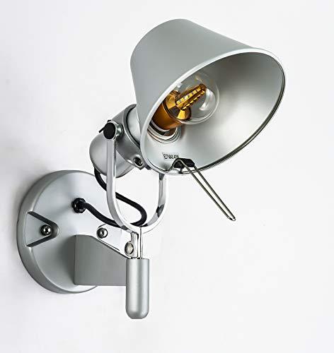 Retro Decoratieve LED-lampen opbouw slaapkamer tafel bureau leeslamp E27 220v led wandlamp Aluminium schansen nachtlampje