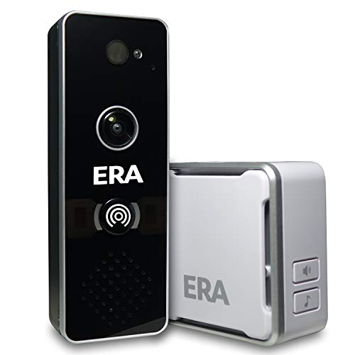 ERA DOORCAM-B Smart Home Wi-Fi Video Doorbell, Black