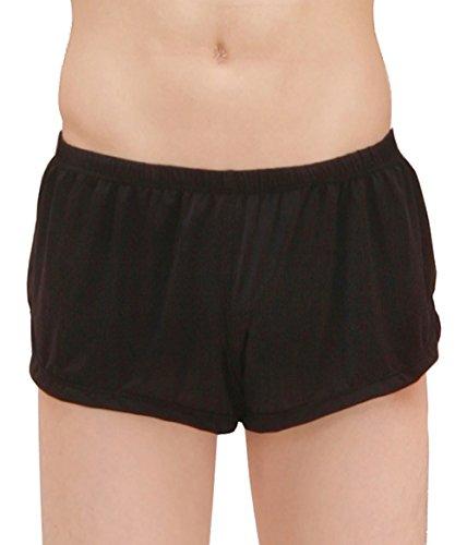 Eternal Berry Men's Ice Silk Fashion Ultra-Thin Boxer Briefs Underwear Trunk