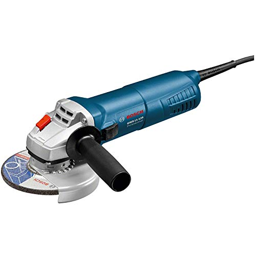 Bosch Professional GWS 11-125 Corded 110 V Angle Grinder (Industrial Plug 16A 3 Pin 110V)