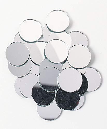 Darice 25-Piece Big Value, Round mirror, -