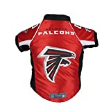 Littlearth Pets NFL Atlanta Falcons Premium Pet Jersey - Sports Jersey Designed for Dogs and Cats, Team Color, Medium