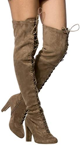 Cheap gladiator thigh high boots _image4