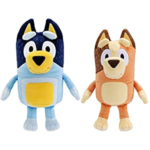 "Bluey Dad 12"" (Bandit) & Mum 11"" (Chilli) - 2 Pack Plush Bundle - 416QEotxlDL - Bluey Dad 12″ (Bandit) & Mum 11″ (Chilli) – 2 Pack Plush Bundle"
