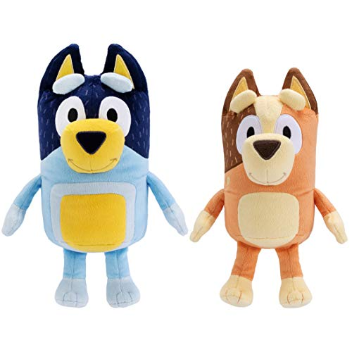 Bluey Dad 12' (Bandit) & Mum 11' (Chilli) - 2 Pack Plush Bundle