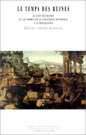 Le Temps des ruines : Le Goût des ruines et les Formes de la conscience historique à la Renaissance