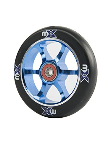 Piece detachee Trottinette Micro Roue MX 110mm core bleu
