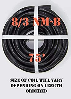 8/3 NM-B x 75' Non-Metallic Electrical Cable
