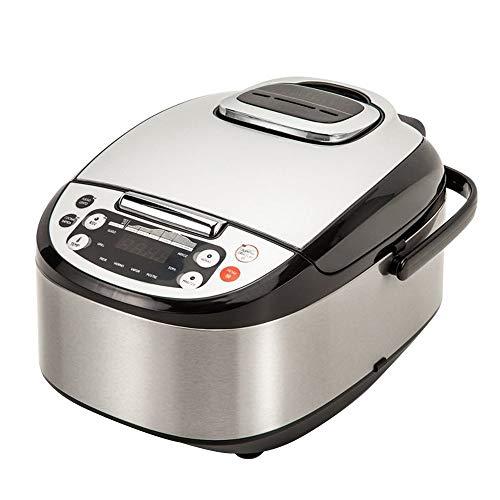 Robot de Cocina Multifunción con Voz, Programable 24 horas, Capacidad de 5 Litros (10 Comensales)....