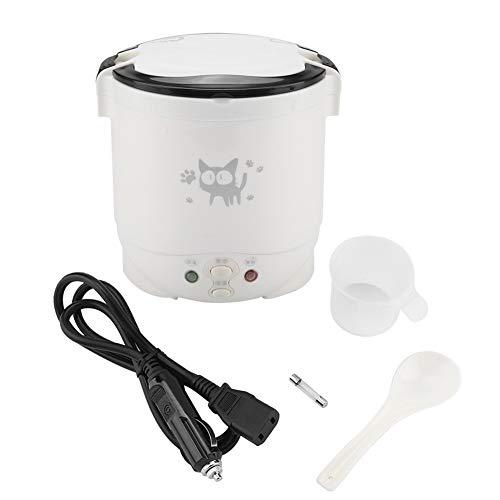 1L Cocina de Arroz Lonchera Eléctrica Calentador de Comida Portátil Mini Cocina...