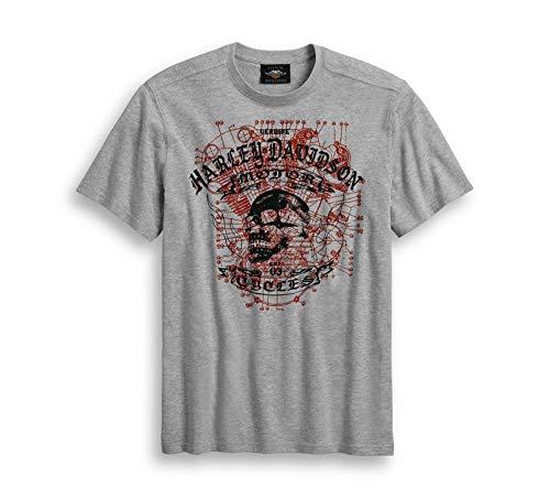 HARLEY-DAVIDSON T-Shirt Skull Engine, L