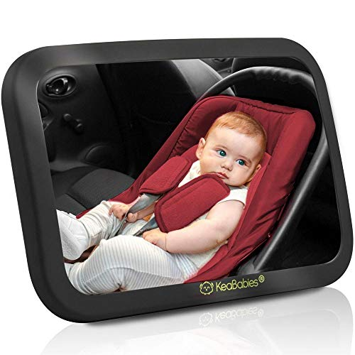 Baby Car Mirror - Safety Car Seat Mirror For Rear Facing Infant...
